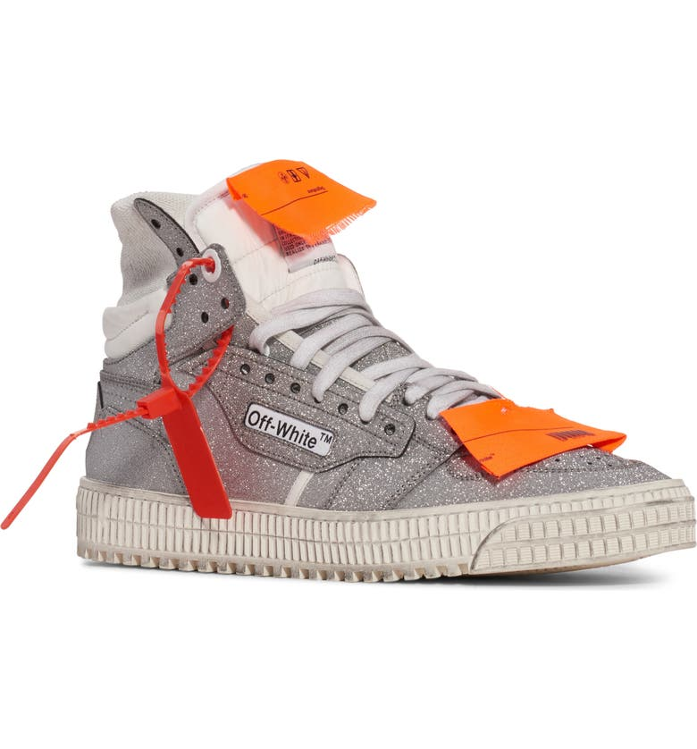 OFF-WHITE Off Court 3.0 Glitter High Top Sneaker, Main, color, 900