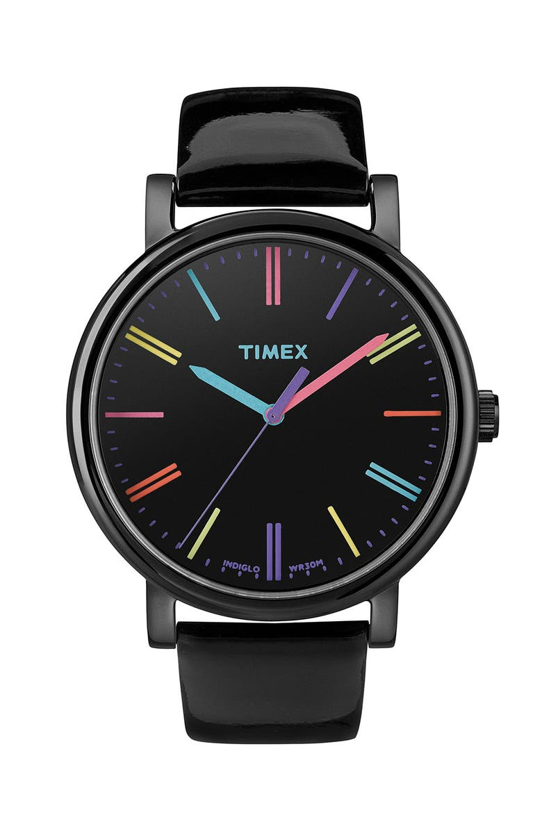 TIMEX<SUP>®</SUP> 'Easy Reader' Multi Color Marker Watch, 38mm, Main, color, 001