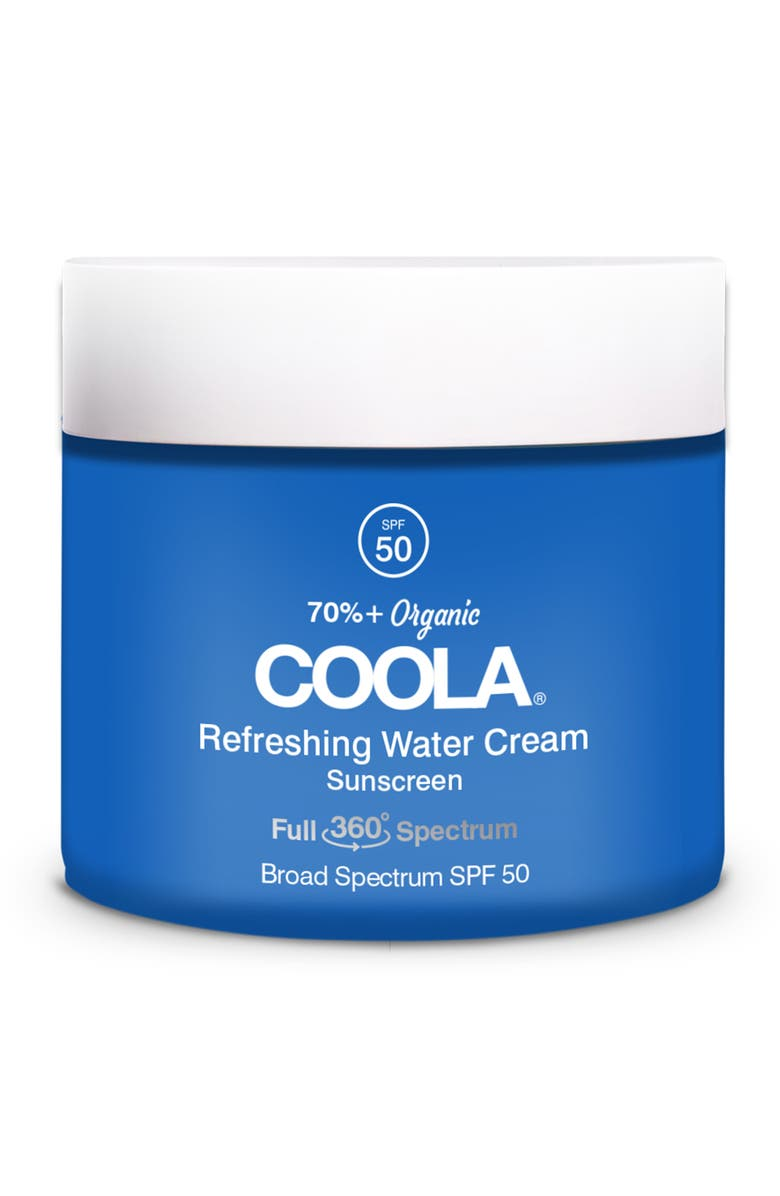 COOLA<SUP>®</SUP> Refreshing Water Cream Sunscreen SPF 50, Main, color, NO COLR