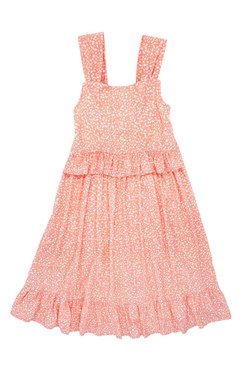 FEATHER 4 ARROW Kids' Sunset Vibes Cover-Up Dress, Main, color, CORAL CRUSH