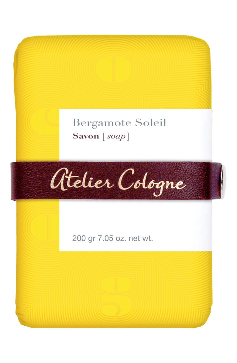 ATELIER COLOGNE Bergamote Soleil Soap, Main, color, 000