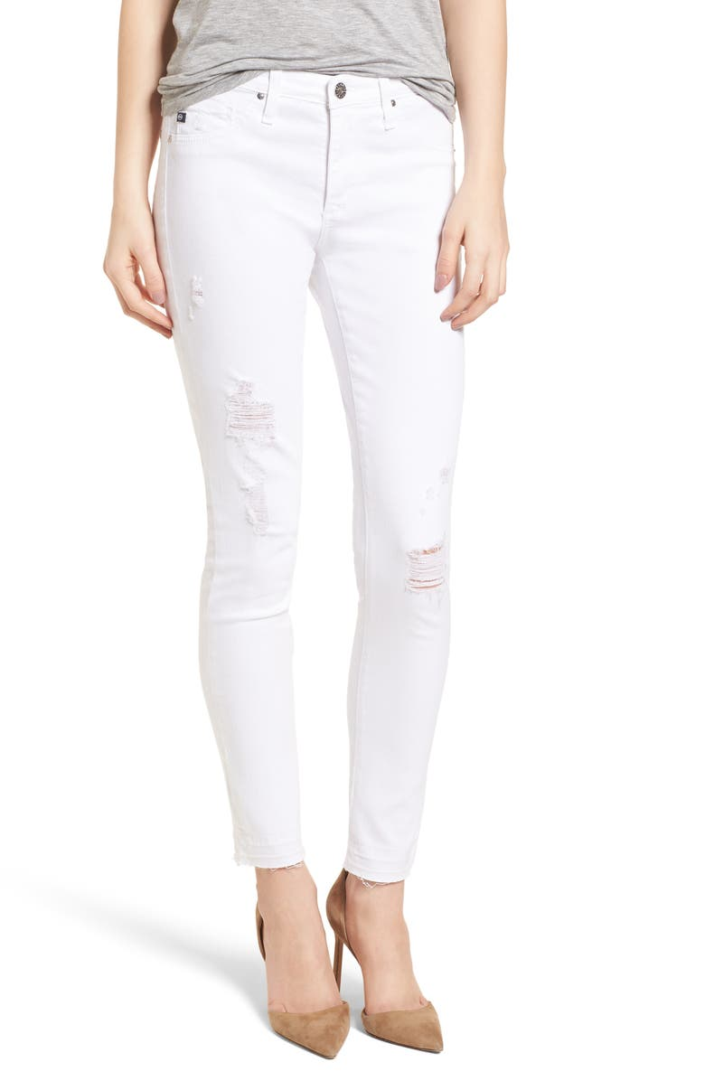 AG The Legging Ankle Super Skinny Jeans, Main, color, 151