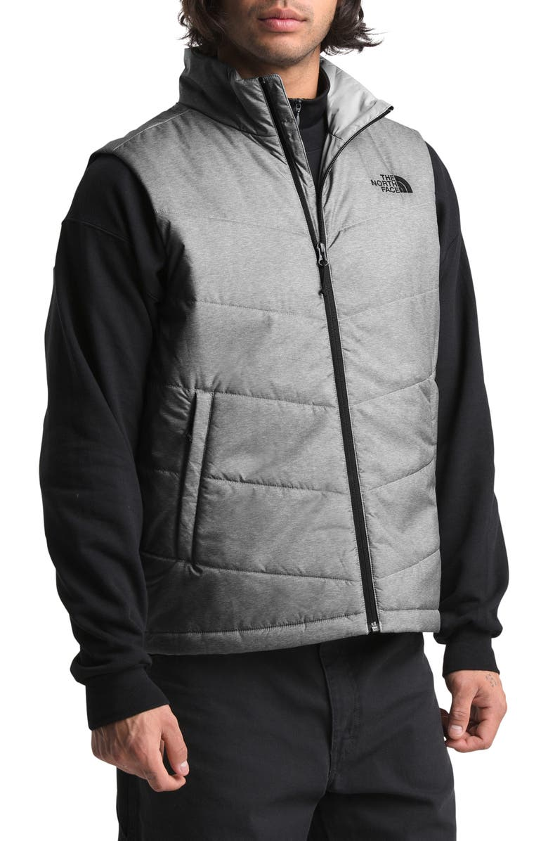 THE NORTH FACE Junction Heatseeker Eco Vest, Main, color, TNF MEDIUM GREY HEATHER