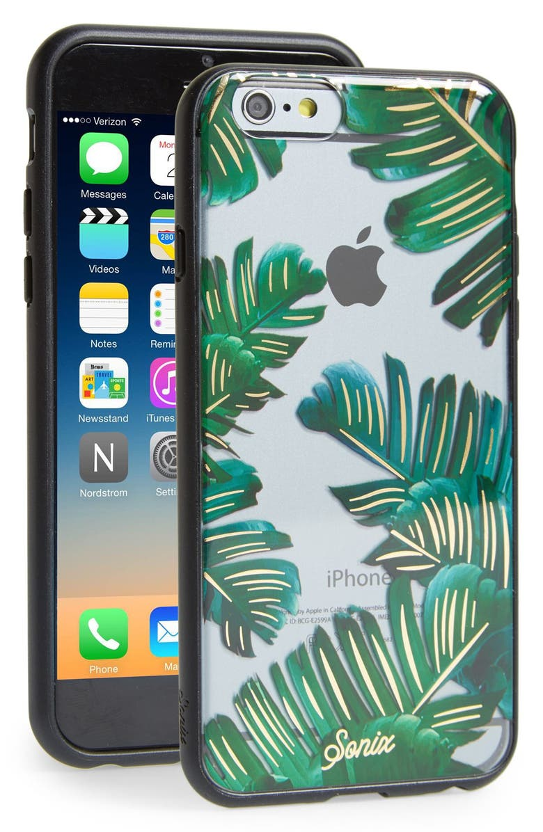 SONIX Bahamas iPhone 6/6s Case, Main, color, CLEAR