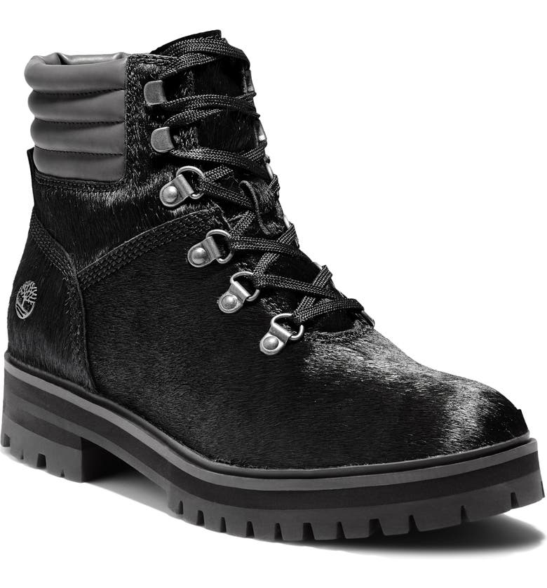 TIMBERLAND London Square Hiker Boot, Main, color, BLACK LEATHER