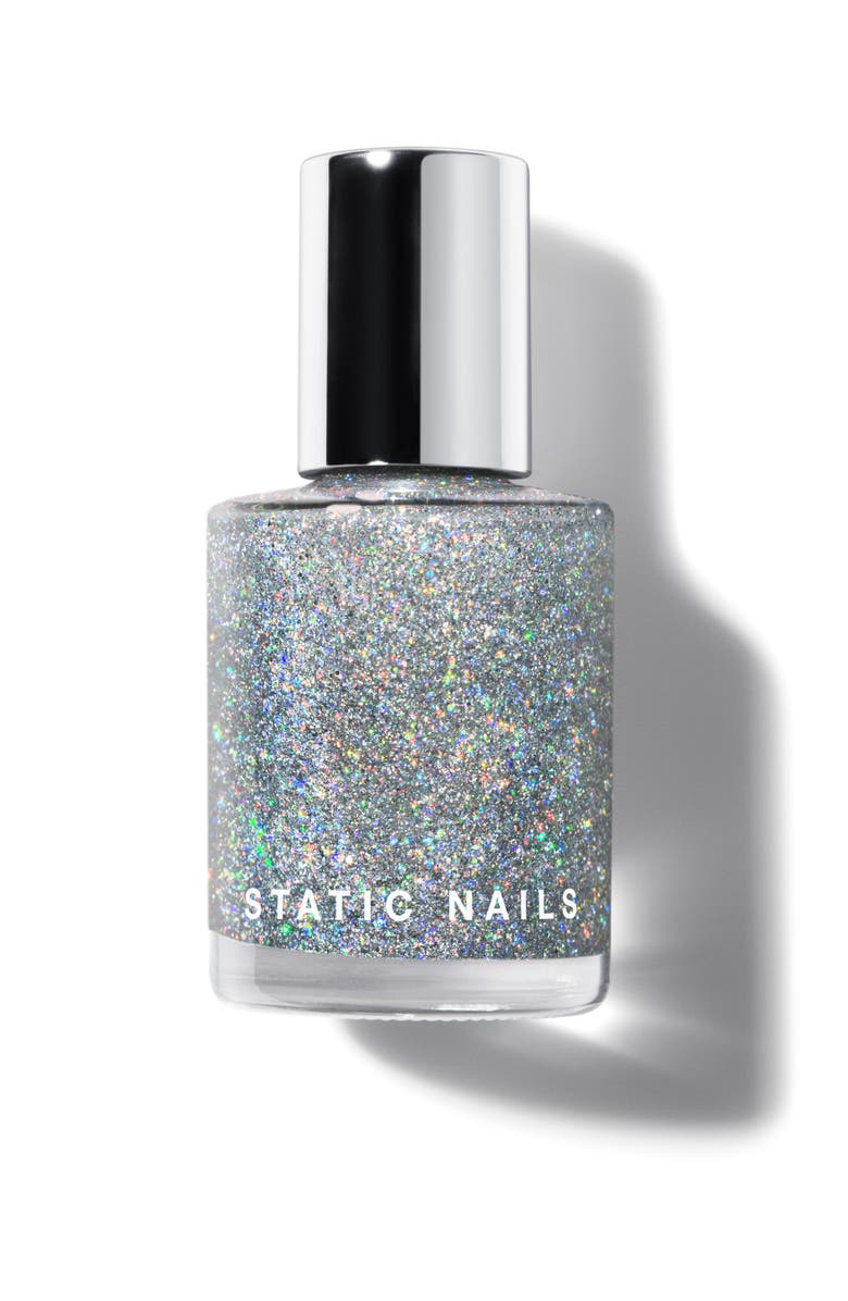 STATIC NAILS Liquid Glass Holographic Topper, Main, color, MAJOR HOLO