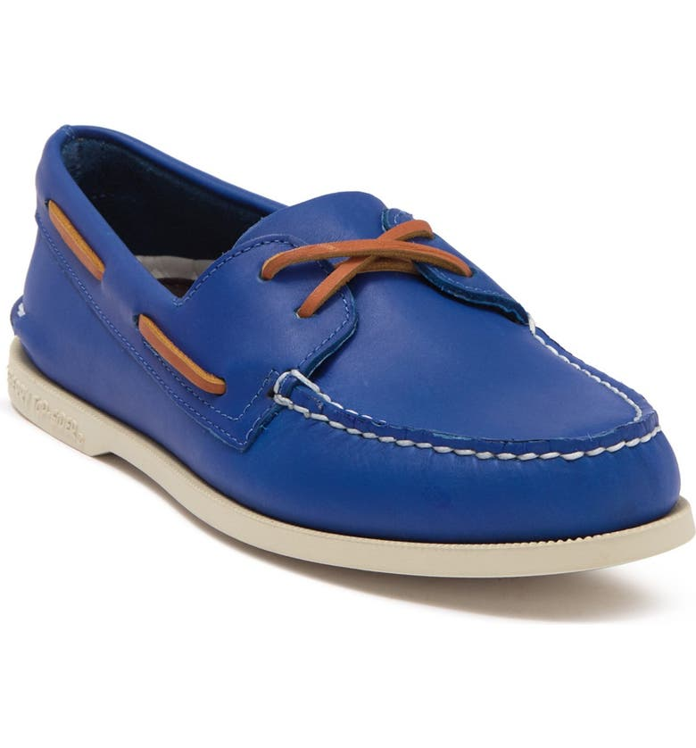SPERRY TOP-SIDER Authentic Original 2-Eye Boat Shoe, Main, color, ROYAL BLUE