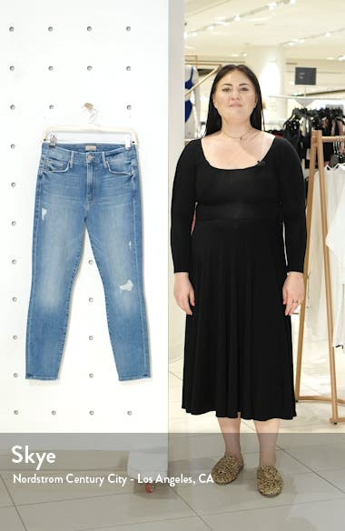 The Looker Ripped High Waist Crop Skinny Jeans, sales video thumbnail