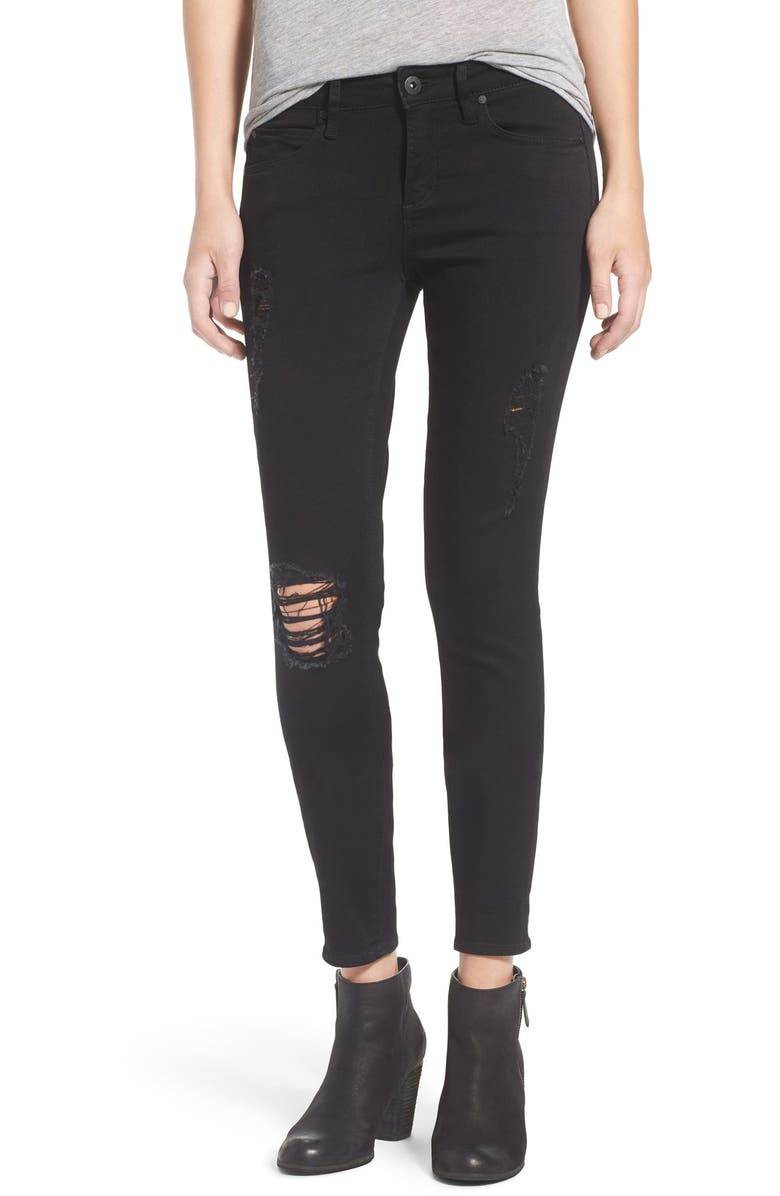 ARTICLES OF SOCIETY 'Sarah' Skinny Jeans, Main, color, 001