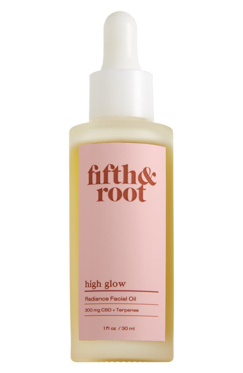 FIFTH ROOT Fifth & Root High Glow CBD Radiance Facial Oil, Main, color, 650
