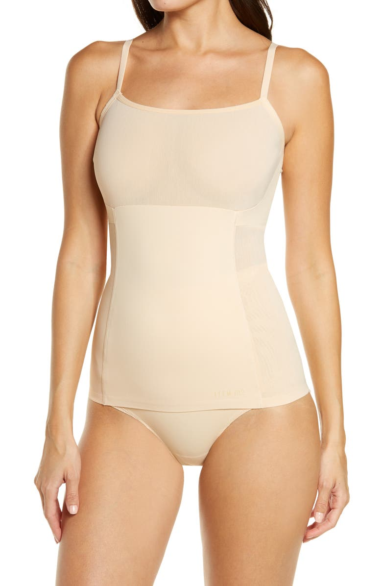 ITEM M6 Convertible Strap Mesh Shaping Camisole, Main, color, APRICOT