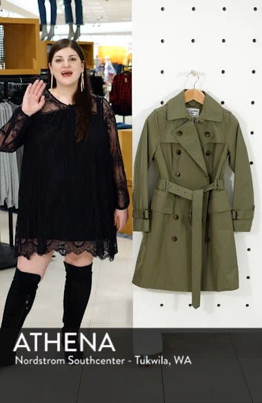 Water Repellent Trench Coat, sales video thumbnail