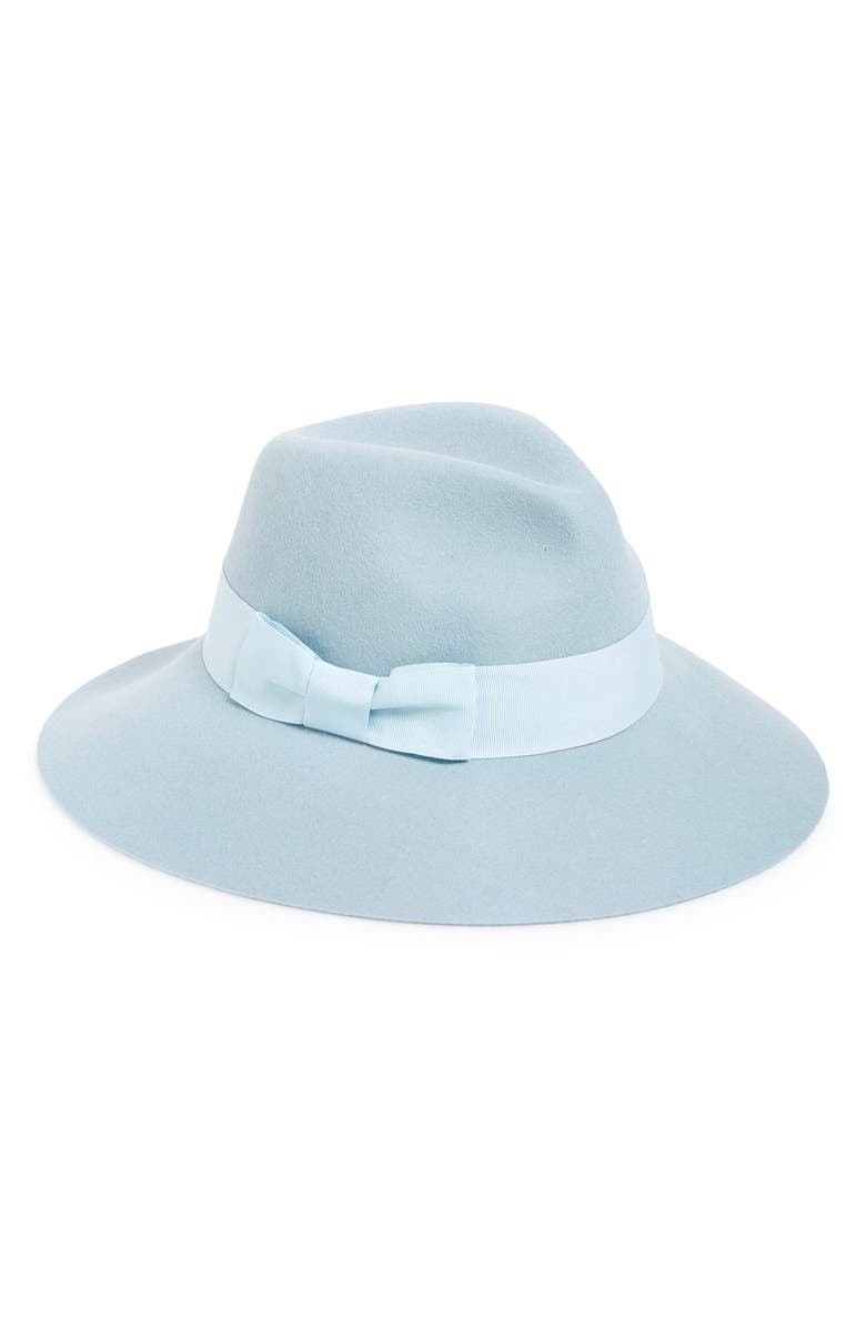 AUGUST HAT Pastel Wool Fedora, Main, color, 400