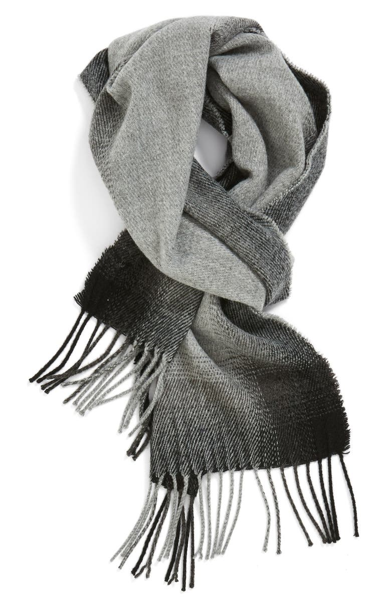 THE RAIL Gradient Knit Scarf, Main, color, 020