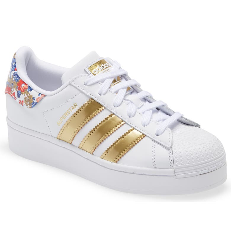 ADIDAS Superstar Bold Sneaker, Main, color, WHITE/ WHITE