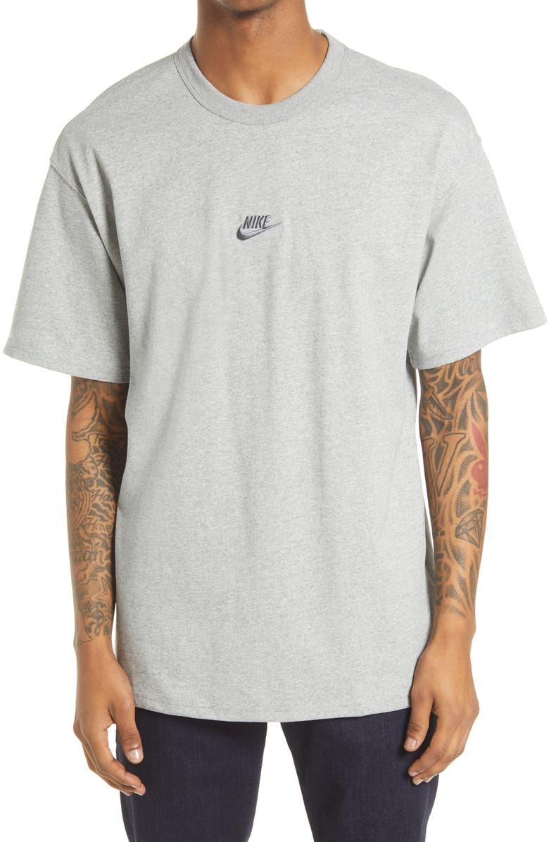 NIKE Sportswear Oversize Embroidered Logo T-Shirt, Main, color, 063