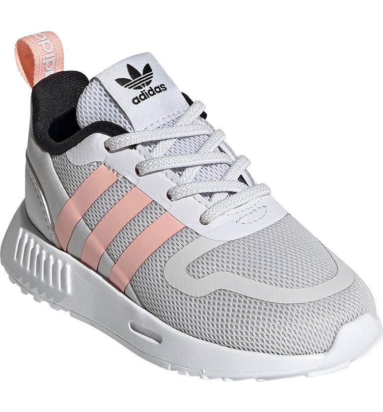 ADIDAS Smooth Runner Sneaker, Main, color, GREY ONE/GLOW PINK/CORE BLACK