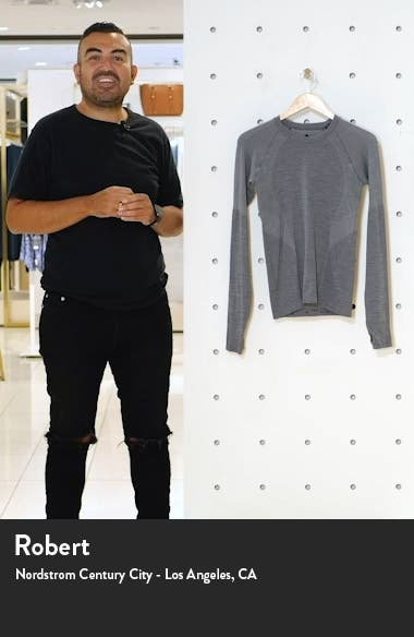 Athlete Seamless Long Sleeve Workout Top, sales video thumbnail