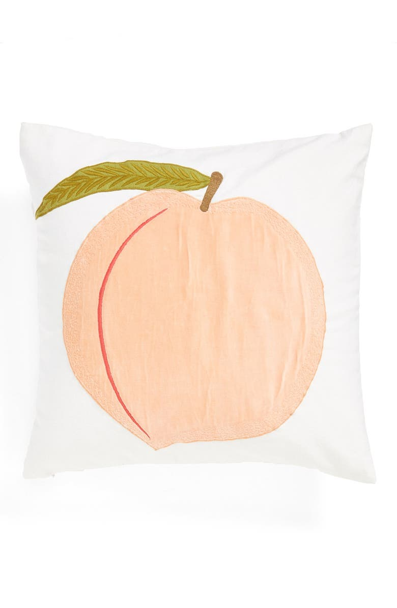 NORDSTROM at Home 'Peach' Pillow, Main, color, 950