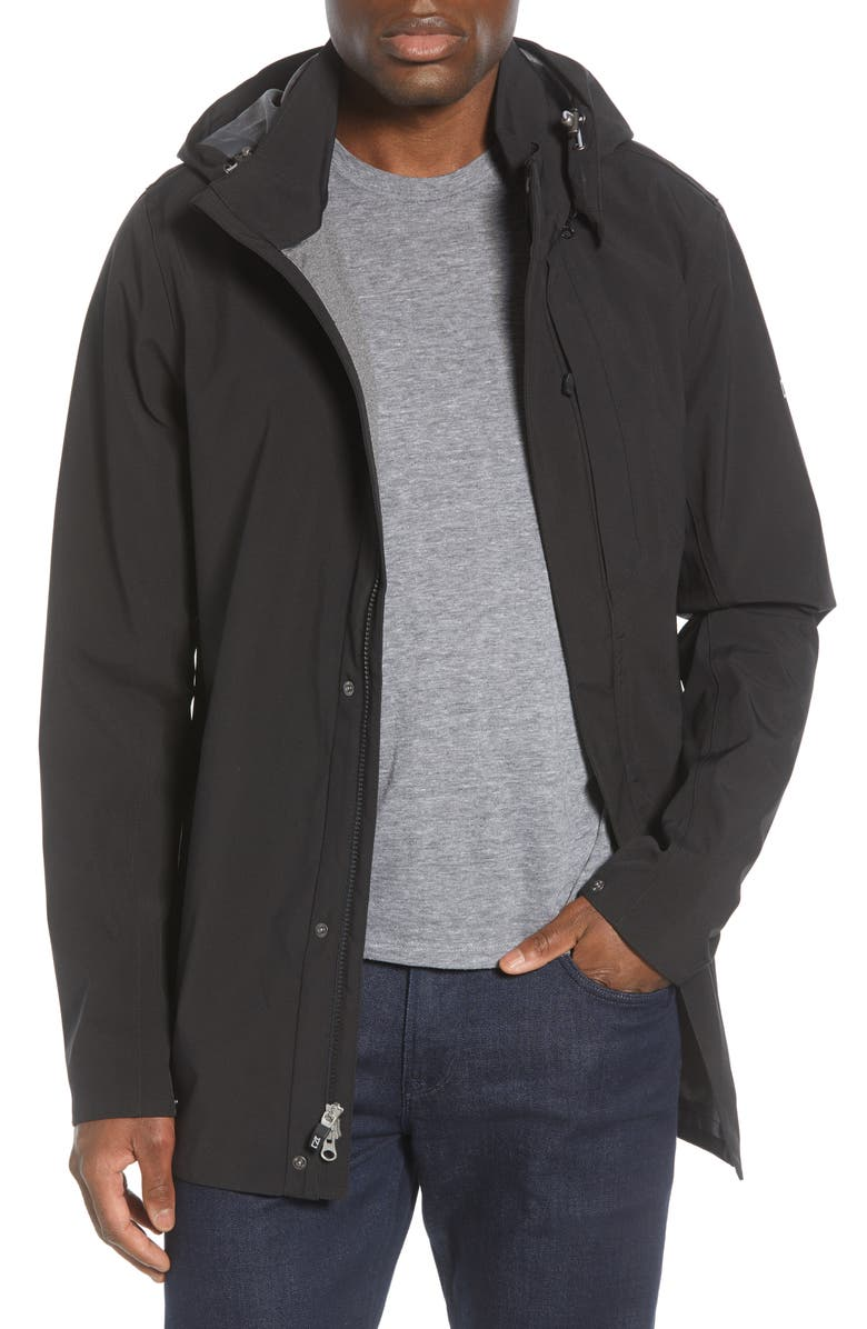 CUTTER & BUCK Shield Hooded Jacket, Main, color, 001
