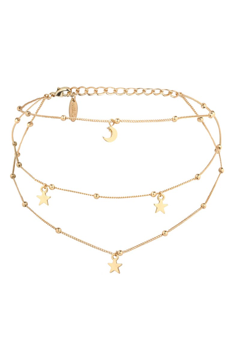 ETTIKA Charm Layered Choker, Main, color, 710