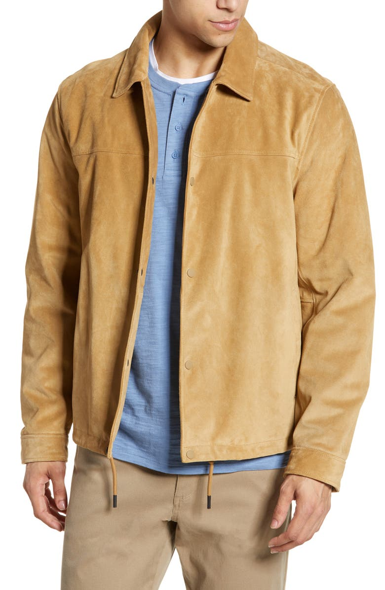VINCE Coach's Jacket, Main, color, 200