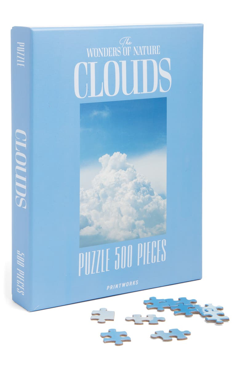 PRINTWORKS The Wonders of Nature Clouds 500-Piece Puzzle, Main, color, 400