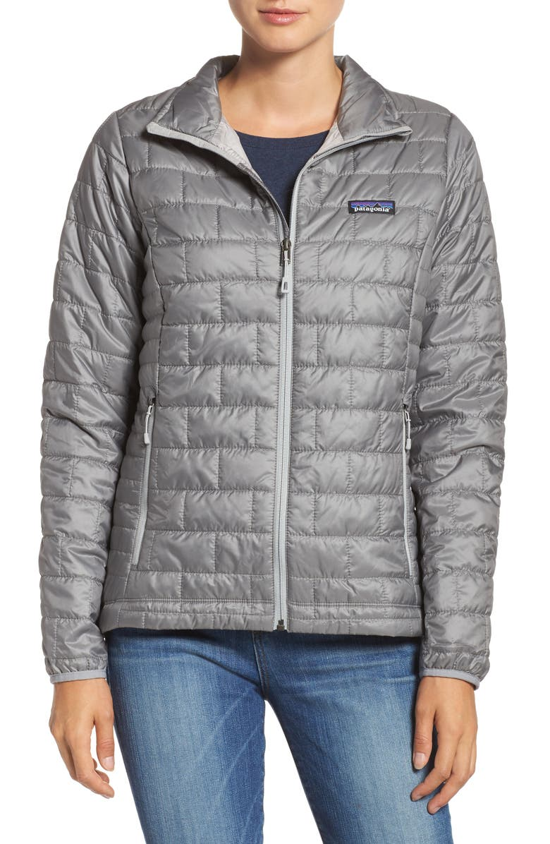 PATAGONIA Nano Puff<sup>®</sup> Water Resistant Jacket, Main, color, FEATHER GREY