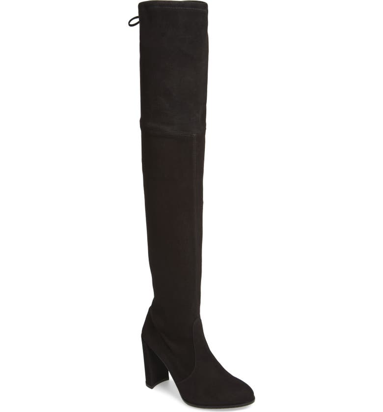 STUART WEITZMAN Hiline Over the Knee Boot, Main, color, 001