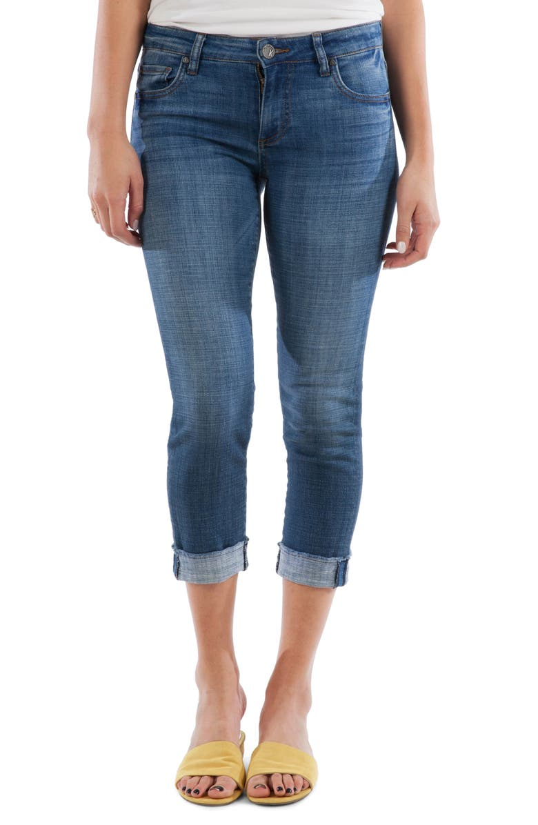 KUT FROM THE KLOTH Amy Crop Straight Leg Jeans, Main, color, 479