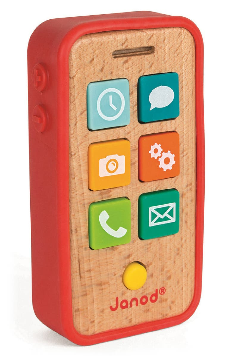 JANOD Sound Telephone, Main, color, RED