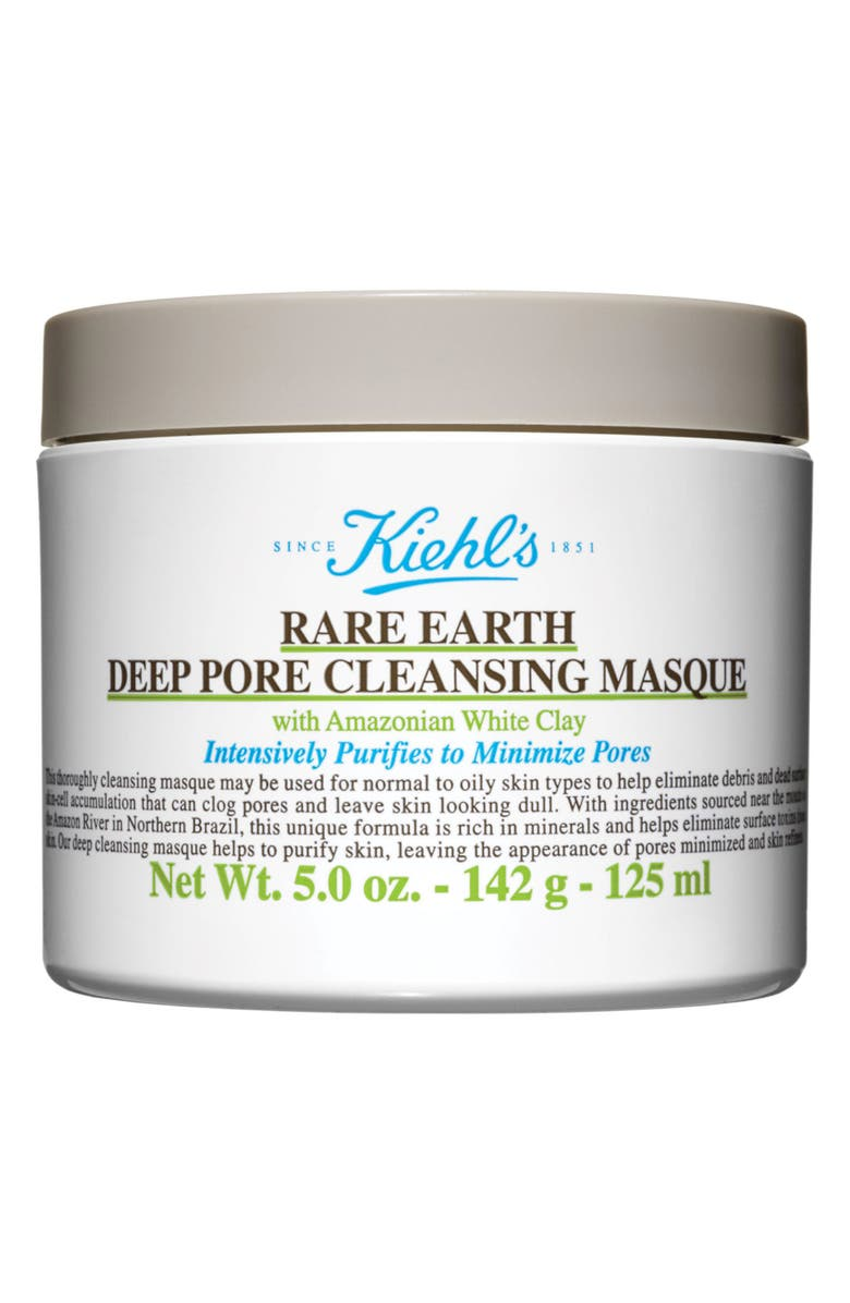KIEHL'S SINCE 1851 Rare Earth Deep Pore Cleansing Face Mask-$38 Value, Main, color, NO COLOR