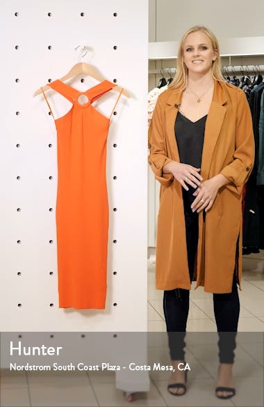 Sionna Ribbed Body-Con Sweater Dress, sales video thumbnail