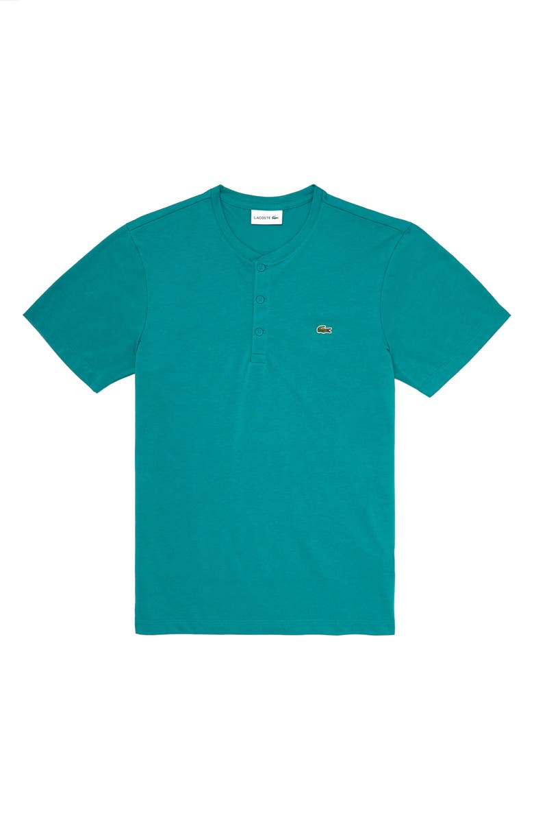 LACOSTE Regular Fit Henley T-Shirt, Main, color, BAILLOUX