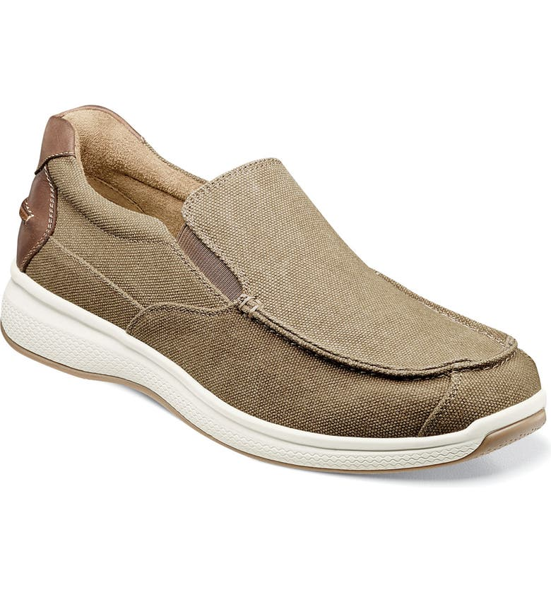 FLORSHEIM Great Lakes Slip-On, Main, color, SAND CANVAS