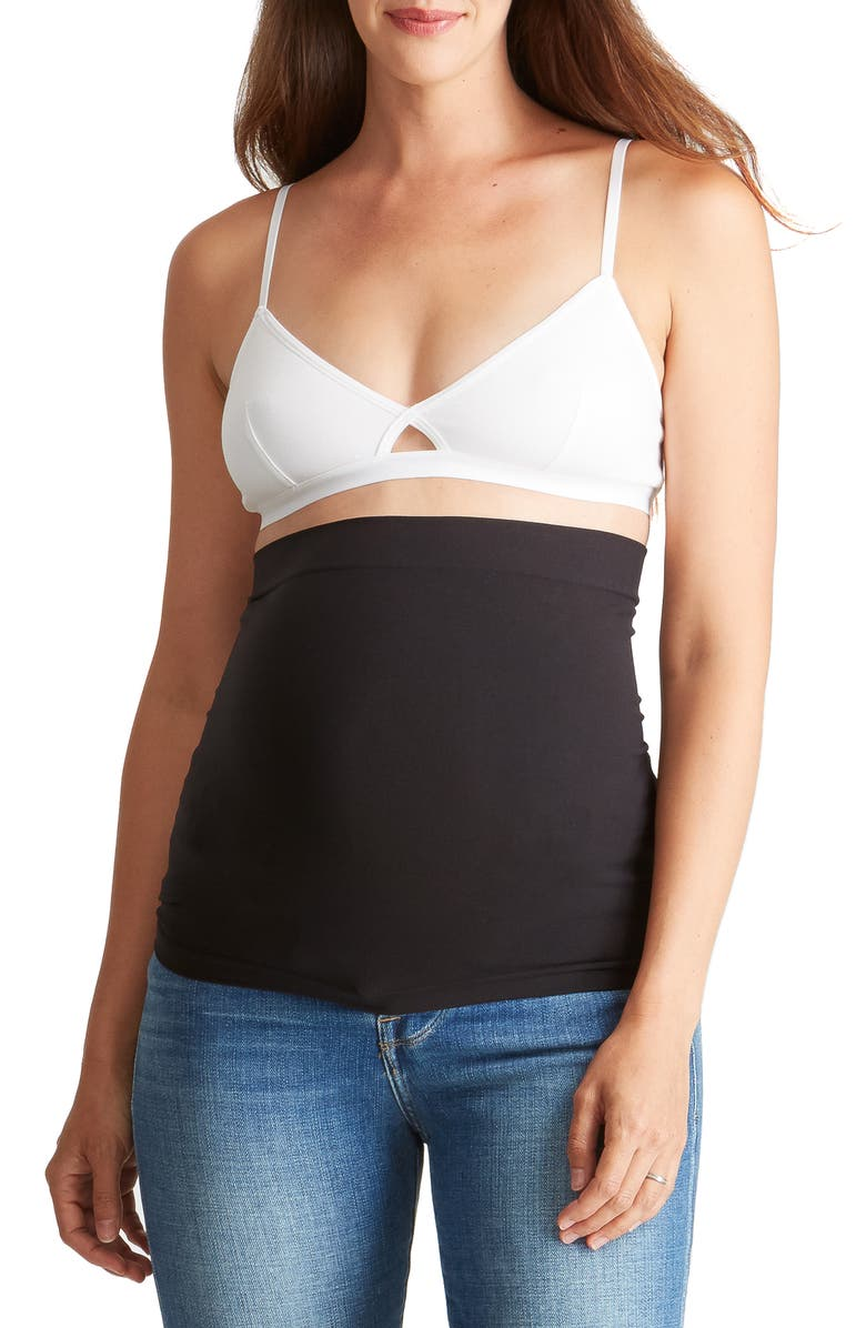 INGRID & ISABEL<SUP>®</SUP> Everyday Maternity BellaBand<sup>®</sup>, Main, color, BLACK