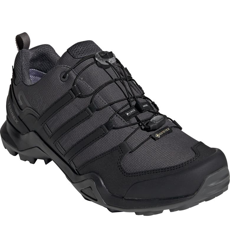 ADIDAS Terrex Swift R2 GTX Gore-Tex<sup>®</sup> Waterproof Hiking Shoe, Main, color, GREY SIX/ BLACK/ GREY FOUR