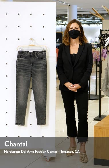 Le One High Waist Crop Skinny Jeans, sales video thumbnail