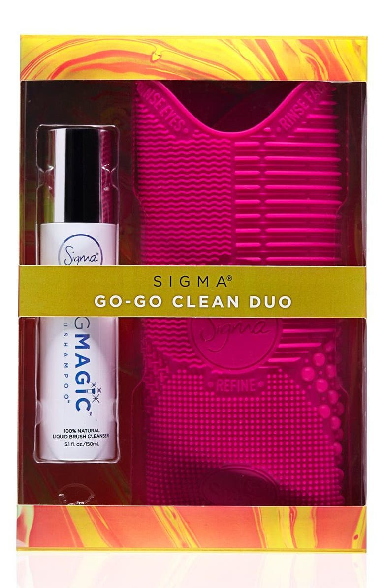 SIGMA BEAUTY Go Clean Duo, Main, color, 000