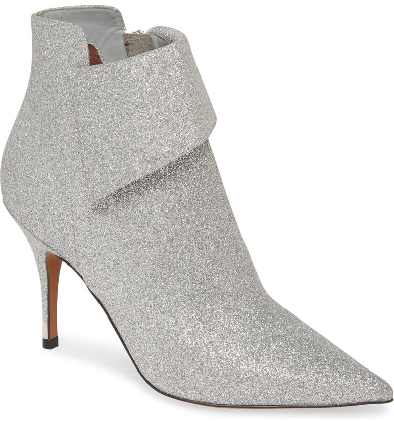 LINEA PAOLO North Bootie, Main, color, SILVER LEATHER