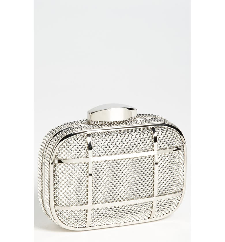 WHITING & DAVIS Caged Minaudiere, Main, color, 040