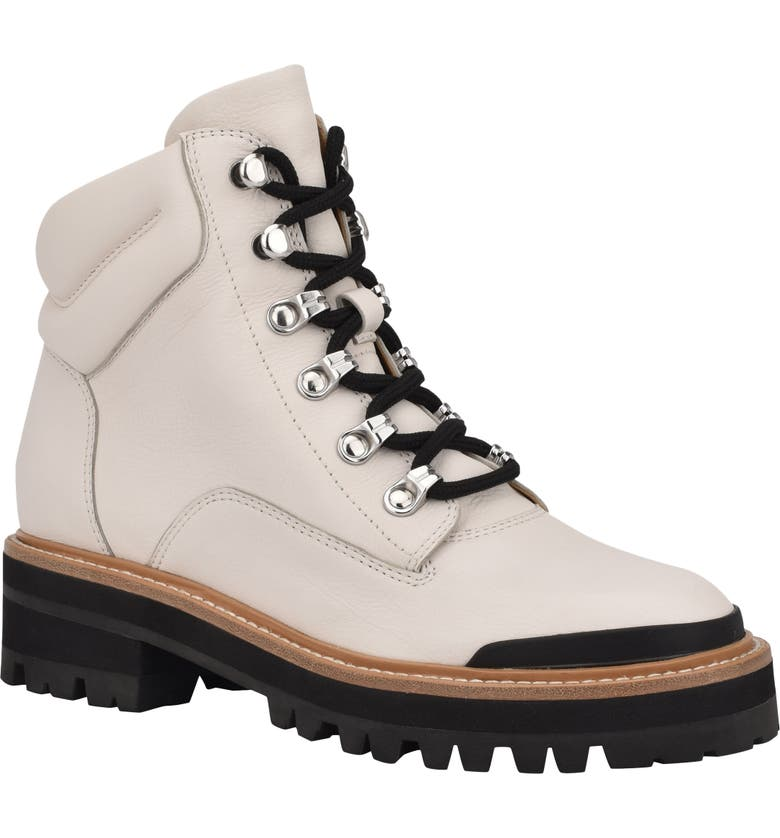 MARC FISHER LTD Idaran Hiking Boot, Main, color, CHIC CREAM LEATHER