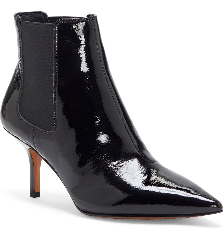 VINCE CAMUTO Arlo Pointed Toe Bootie, Main, color, 001