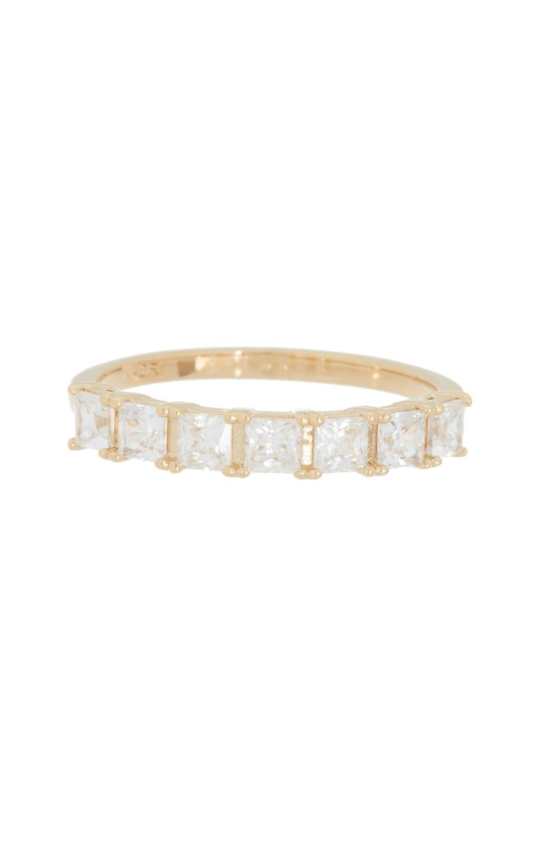 NADRI Evie Square CZ Stackable Ring, Main, color, GOLD