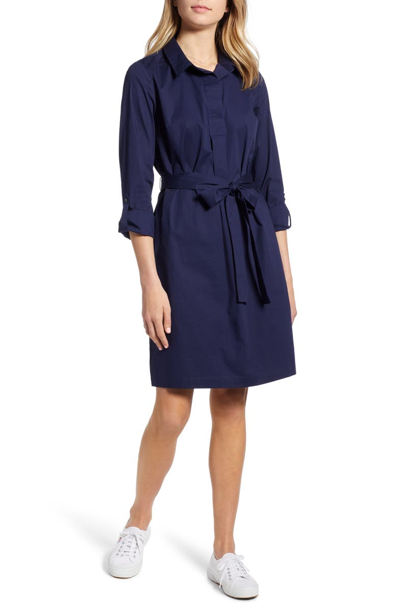 1901 Long Sleeve Shirtdress, Main, color, 410