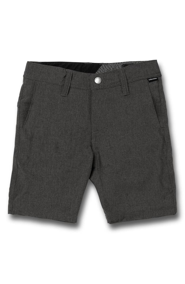 VOLCOM Static Shorts, Main, color, CHARCOAL HEATHER