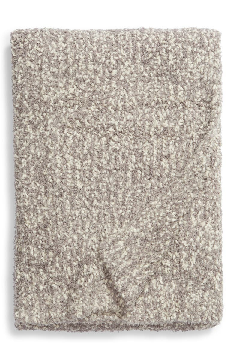 BAREFOOT DREAMS<SUP>®</SUP> Chunky Bouclé Knit Throw Blanket, Main, color, 020