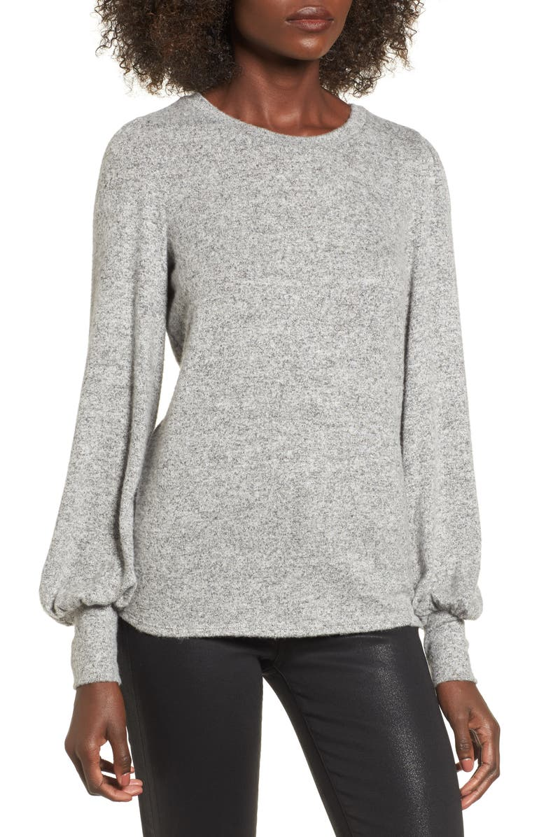 SOPRANO Bell Sleeve Pullover, Main, color, 020