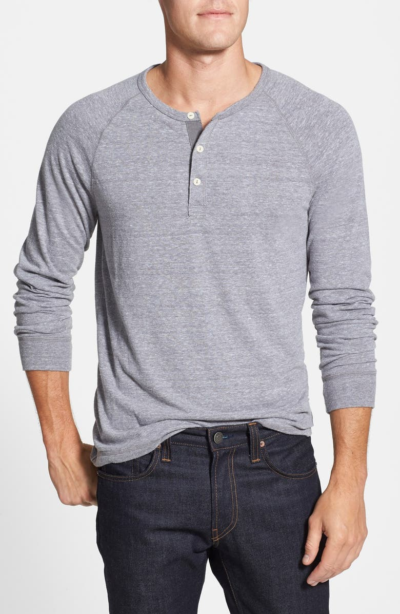 LUCKY BRAND Garment Washed Henley, Main, color, 030