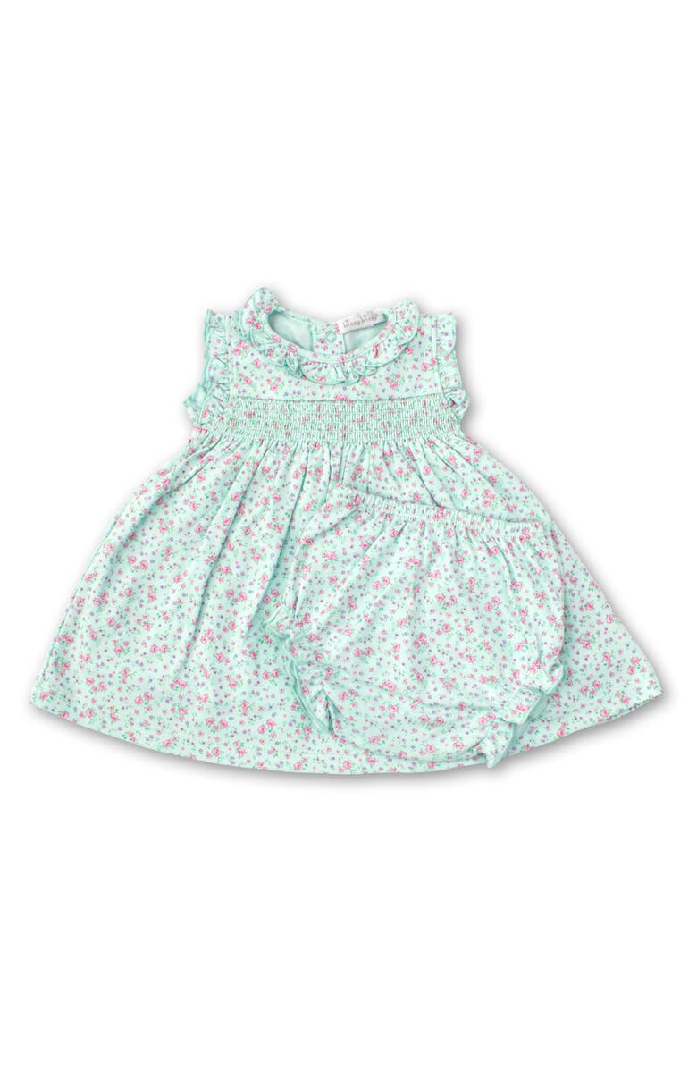 KISSY KISSY Dusty Rose Smocked Sundress, Main, color, 350